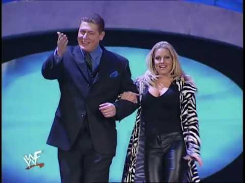 Trish Stratus is Vince McMahon's Valentine Date