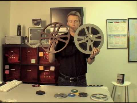 Home Movie Film reel size guide 8mm Super 8 16mm movies