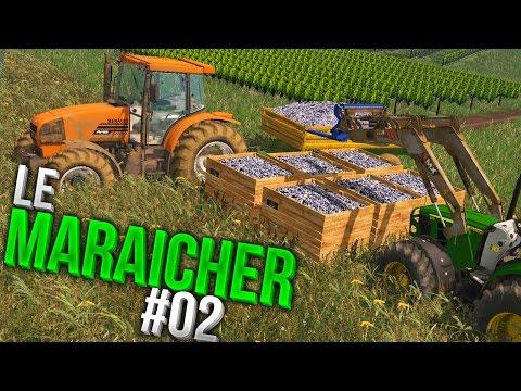 Farming Simulator 15 | Maraîchage sur Breizh Ma Bro | Episode 2 | les vendanges du raisin !