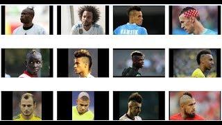 Najlepsze fryzury piłkarzy