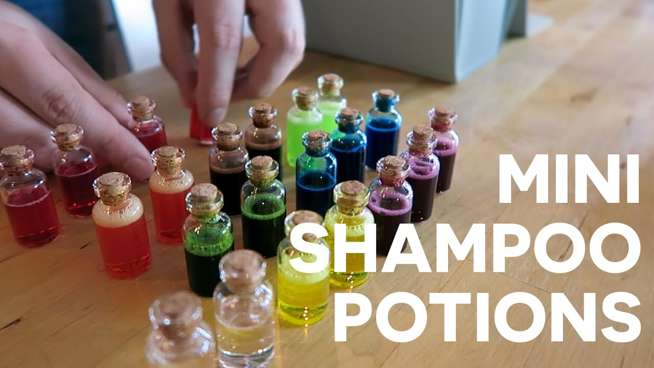 Potion Making Class w/ Simon! Making Miniature Potions for D&D