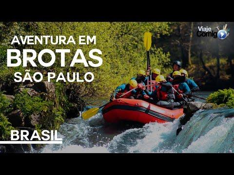 Aventura em Brotas | SÃO PAULO | BRASIL |Série Viaje Comigo