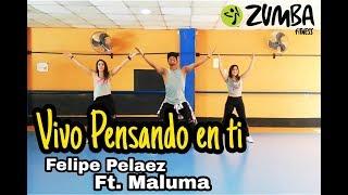 Pensando en ti - Felipe Pelaez Ft. Maluma/ Choreography / Zumba / Carlos el Safary
