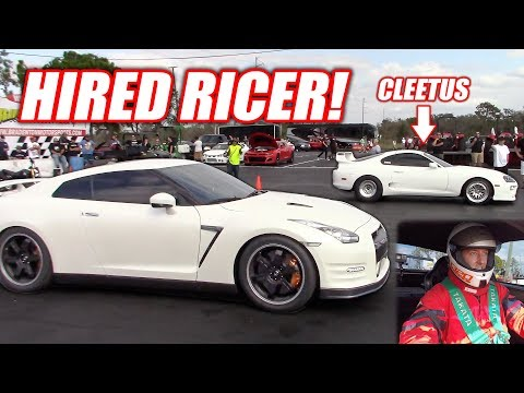 I Was Hired To Drive an Import... Cleetus Powered Supra vs. Corvette, Mustang and GTR!