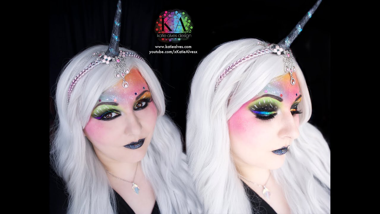 Unicorn Makeup Tutorial - YouTube