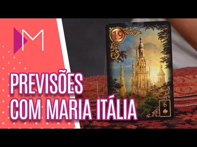 Previsões com Maria Itália + Simpatia - Mulheres (27/02/19)