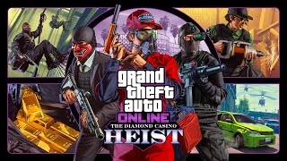GTA 5 ONLINE | DIAMOND HEIST DLC PIMP MY RIDES, HEIST PLAYTHROUGH
