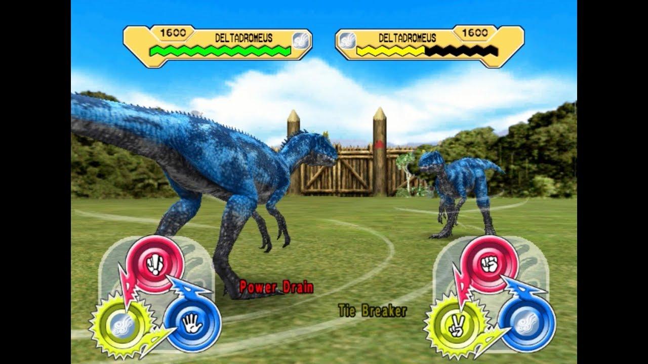 Dinosaur King Arcade Game 恐竜キング Deltadromeus X Super Alpha