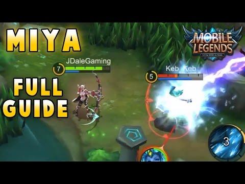 Mobile Legends ULTIMATE Miya Guide (Best Build, Tips & Tricks, Skills)