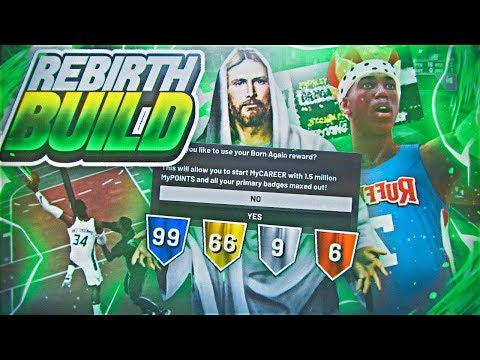 MY NEW DEMIGOD REBIRTH BUILD IS DOMINATING PARK! BEST BUILD IN NBA 2K19?  *MUST WATCH*