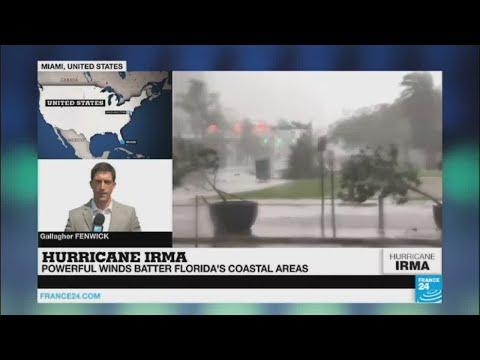 Hurricane Irma: Storm makes landfall on Florida''s west coast