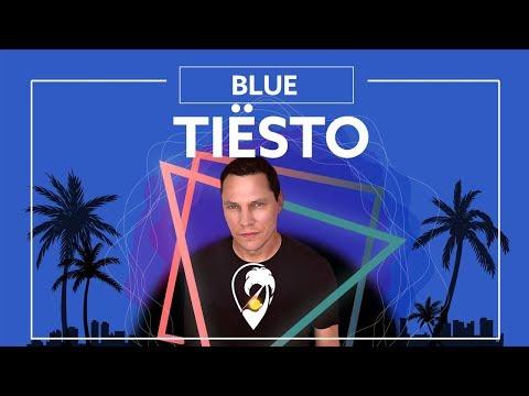 Tiësto - BLUE (Ft. Stevie Appleton) [Lyric Video]