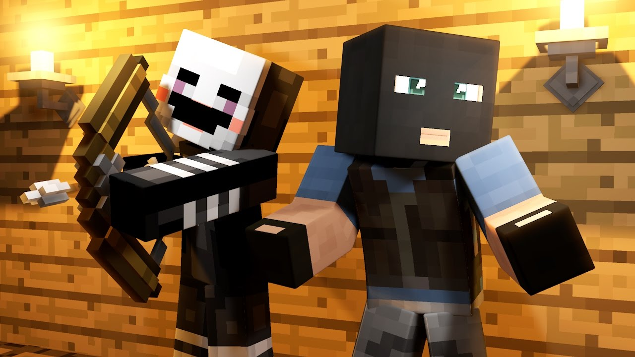 youtube minecraft five nights at freddys