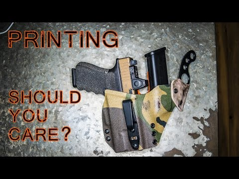What is Printing? Concealed Carry
