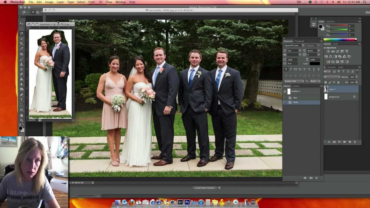 How to remove a person from a photo | Adobe Photoshop ...