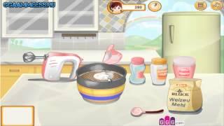 Онлайн игры Игры для девочек Радужные кексы Кухня Сары