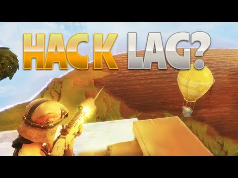 HACK OR LAG? (Fortnite Battle Royale)