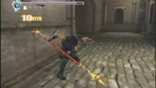 Ninja Gaiden Black gameplay