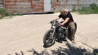 ТУРБО К750! ЗАПУСТИЛИ! Turbo URAL,MT,DNEPR,K750