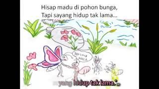 Lagu kanak-kanak Rama-Rama + LIRIK