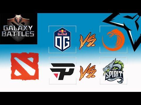 [PT-BR] Chave dos Derrotados - OG vs TNC / Pain vs Team Spirit - Galaxy Battles Semi Final