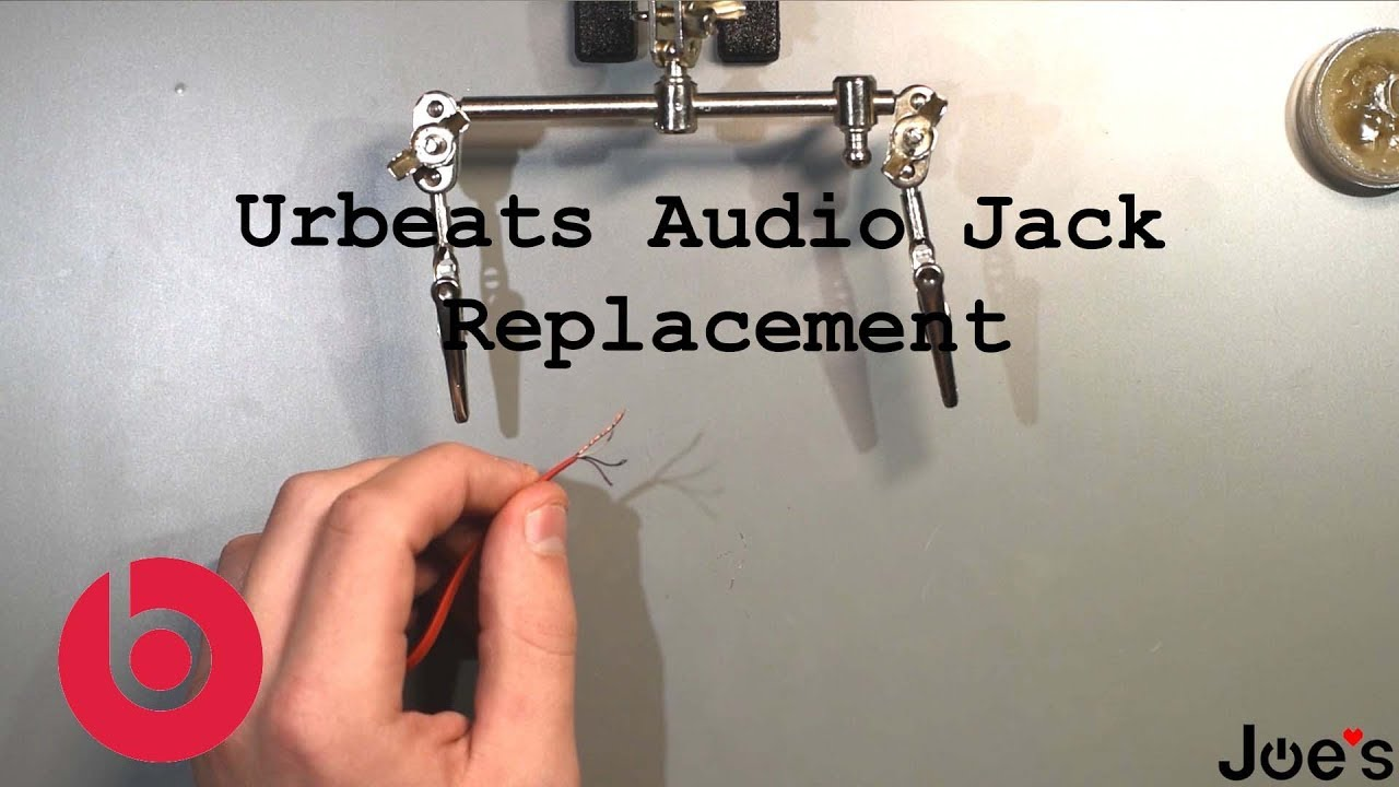 How To Replace Beats By Dre Urbeats Earbuds Audio 3 5mm 4 Pole Jack On