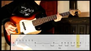 Enter Sandman - Metallica [Bass Cover WITH TABS] (Playalong)