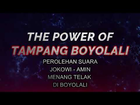 THE POWER OF TAMPANG BOYOLALI, JOKOWI MENANG TELAK, ADA TPS SUARA PRABOWO NOL