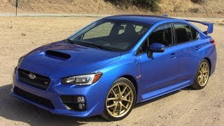2015 Subaru WRX STI First Drive Review