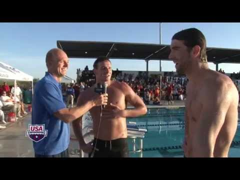 The Phelps Comeback: Phelps vs. Lochte in 100m Butterfly -- Arena Performance of the Month