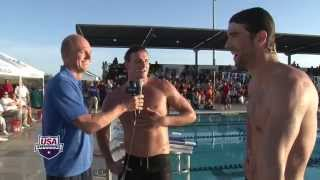 The Phelps Comeback: Phelps vs. Lochte in 100m Butterfly -- Arena Performance of the Month Thumbnail