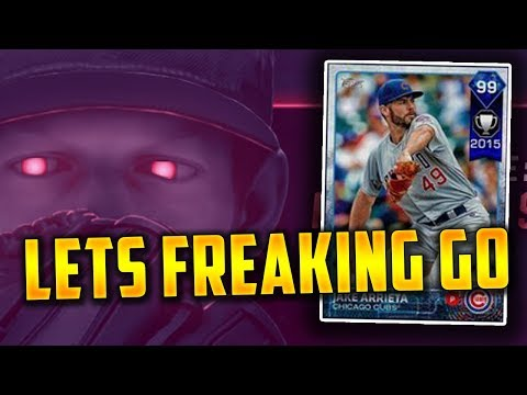 Grinding For 99 Jake Arrieta And Opening IRL PACKS! MLB The Show 17 | Diamond Dynasty Events