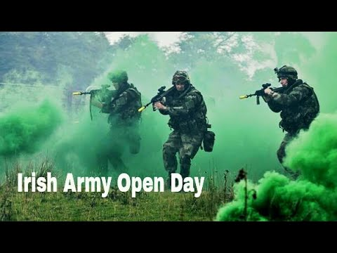 VLOG | Irish Defence Forces Open Day 2017 w/ Nathan