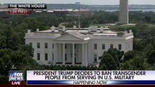 Fox Did Not Want To Talk Much About Trump's Military Transgender Ban