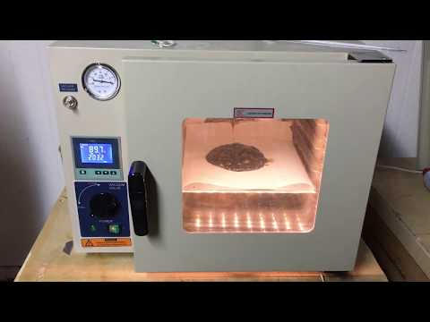 Making BHO THC Wax In Close Loop System And Vacuum Chamber