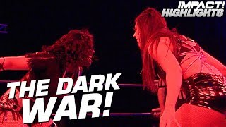 Team Rosemary vs Team Su Yung: THE DARK WAR | IMPACT! Highlights Mar 8, 2019