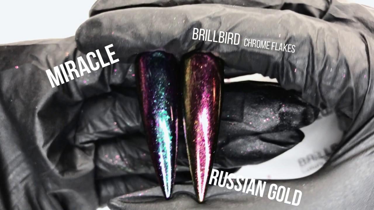 CHROME TUTORIAL !! | NEW Brillbird Chrome Flakes
