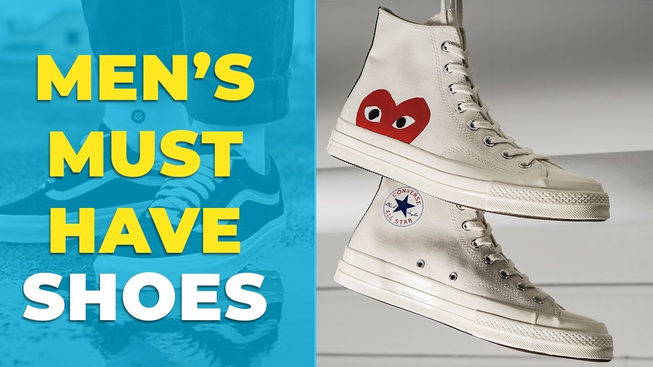[VIDEO] - BEST SHOES FOR MEN | Must Have Sneakers for 2019 | Alex Costa 1