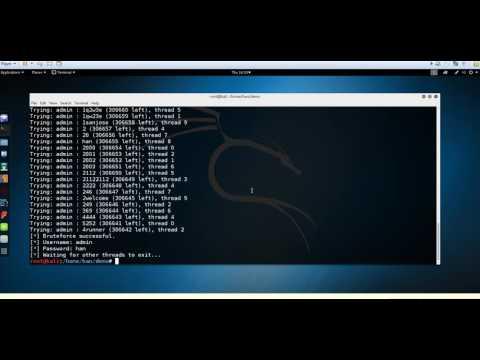 Python3 Joomla Brute Force