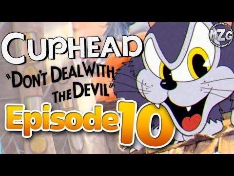 A Rat in a Cat! - Cuphead Gameplay - Episode 10