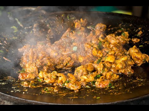 Tasty Tawa chicken Fry - Easy Tawa Chicken Fry Recipe