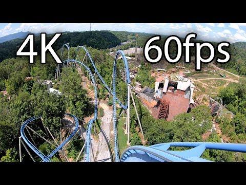 Wild Eagle front seat on-ride 4K POV @60fps Dollywood - YouTube