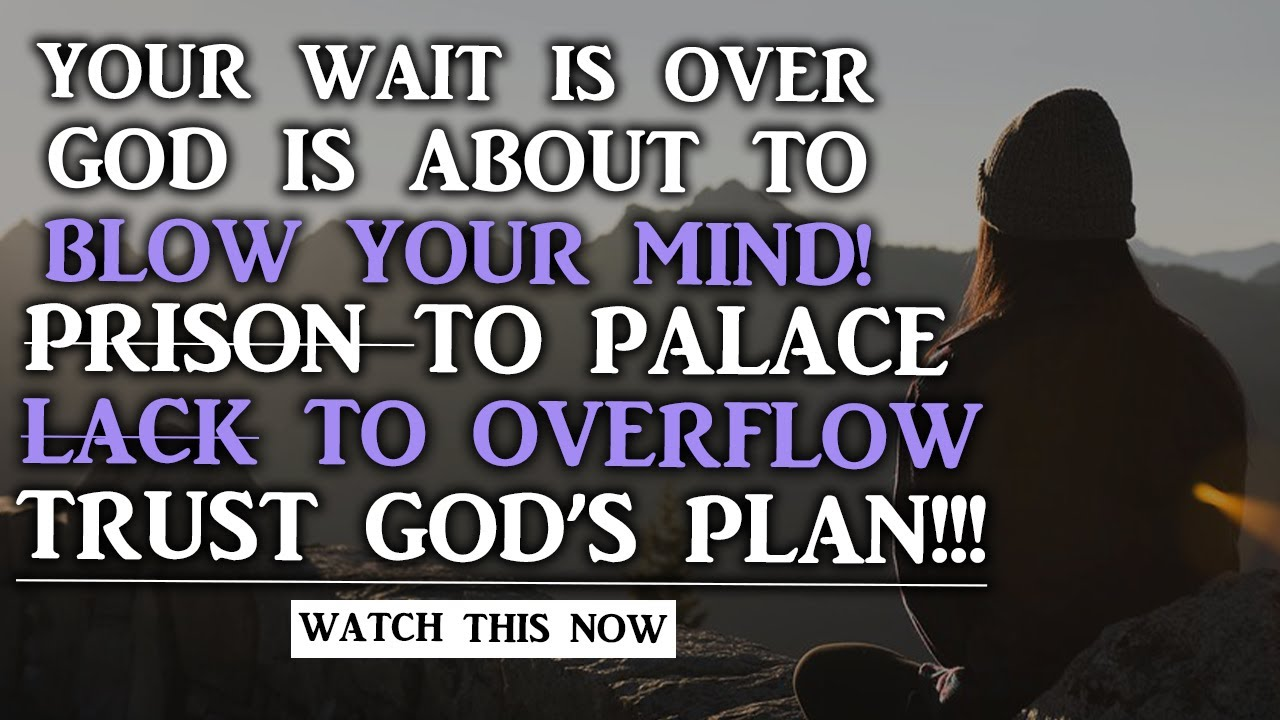 GOD HAS A BETTER PLAN WAIT HE WILL EXHALT AND PROSPER YOU IN DUE SEASON-CHRISTIAN MOTIVATIONAL VIDEO