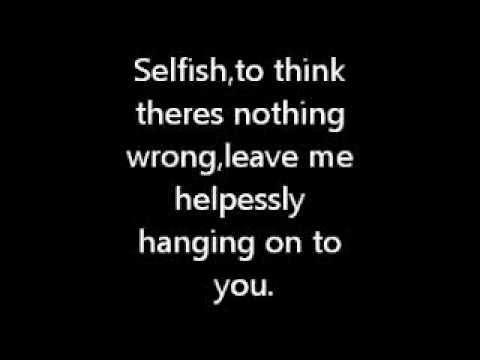 Nikki Flores-Selfish(Lyrics on screen)
