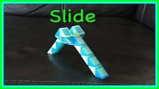 Smiggle Snake Puzzle or Rubik's Twist Tutorial: How to Make a Slide Shape Step by Step