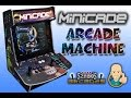 Minicade Bartop Arcade Machine in Action.