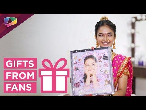 Anushka Sen Receives Gifts From Her Fans | Jhansi Ki Rani