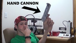 3D Printing a Hand Cannon from Fortnite!   It Looks Real.