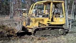 Grant Pushing Out a Stump Cat D3