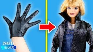 10 DIY Miniature Fashion School Outfits For Barbie